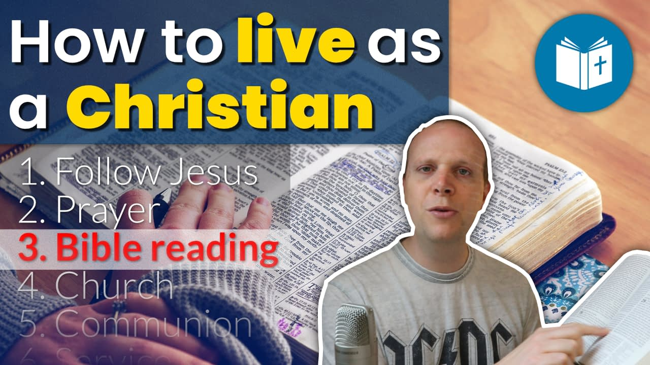 Getting started reading the Bible