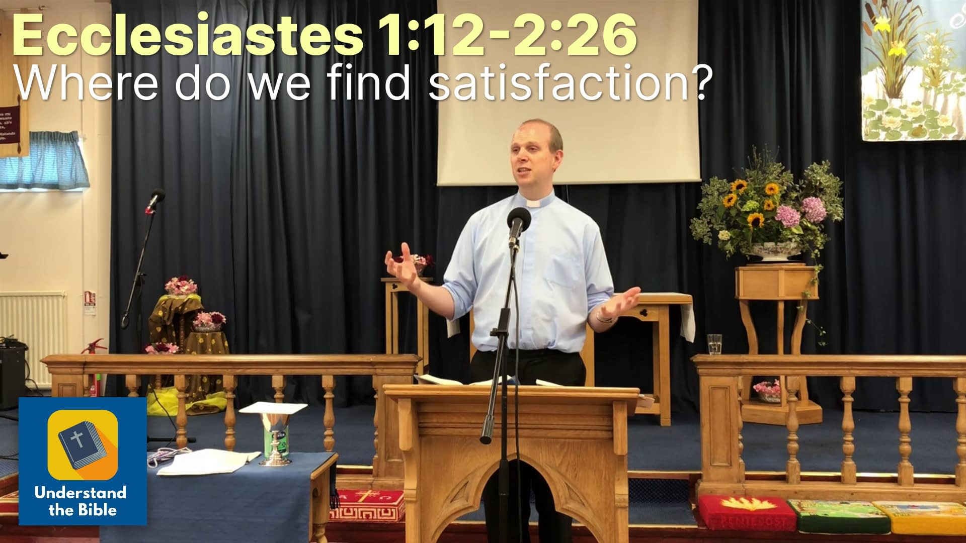 How to find satisfaction? | Eccl 1:12-2:26 | Sermon