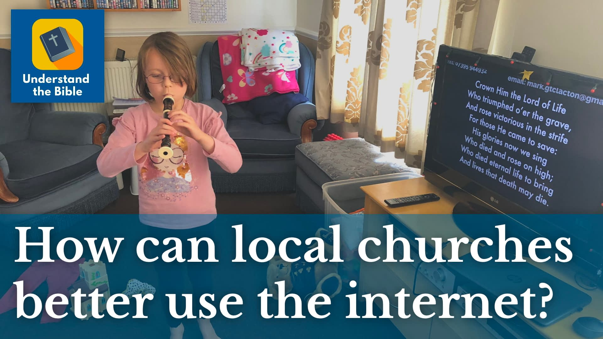 How can local churches better use the internet?