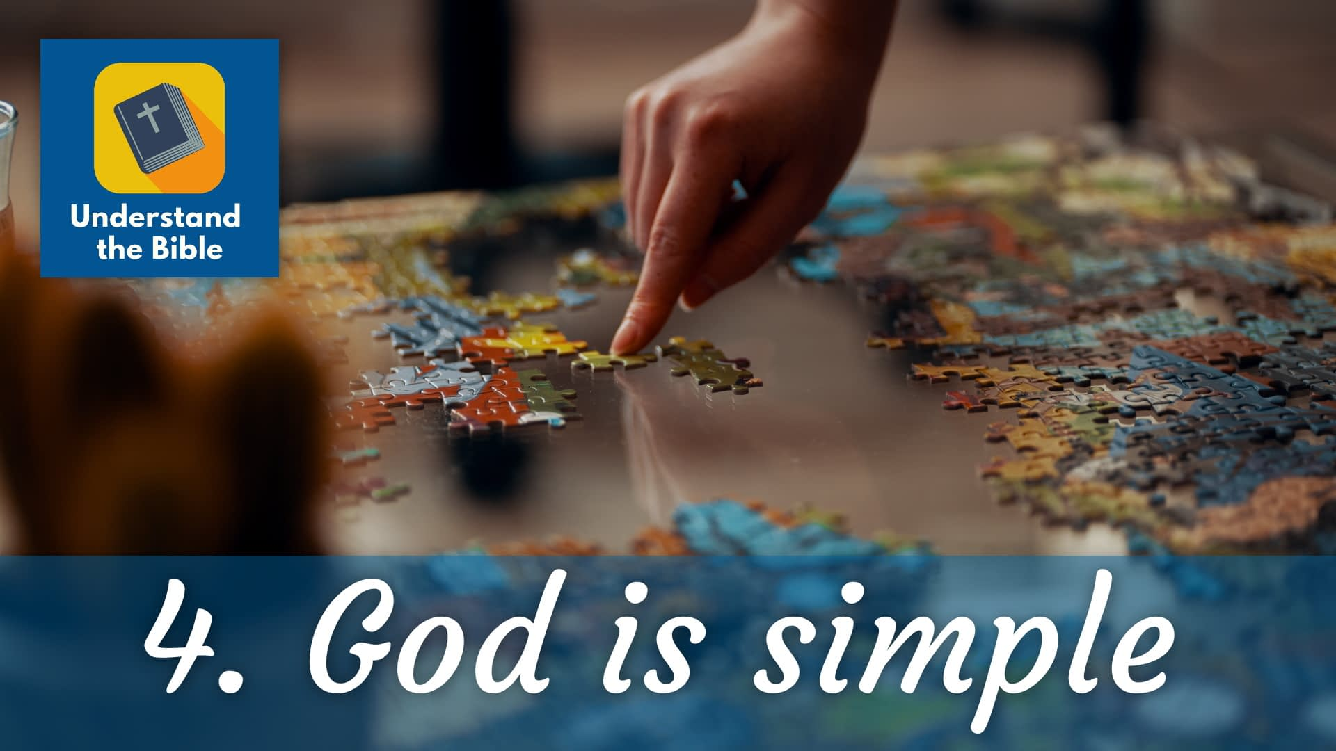 God is… simple (without parts)