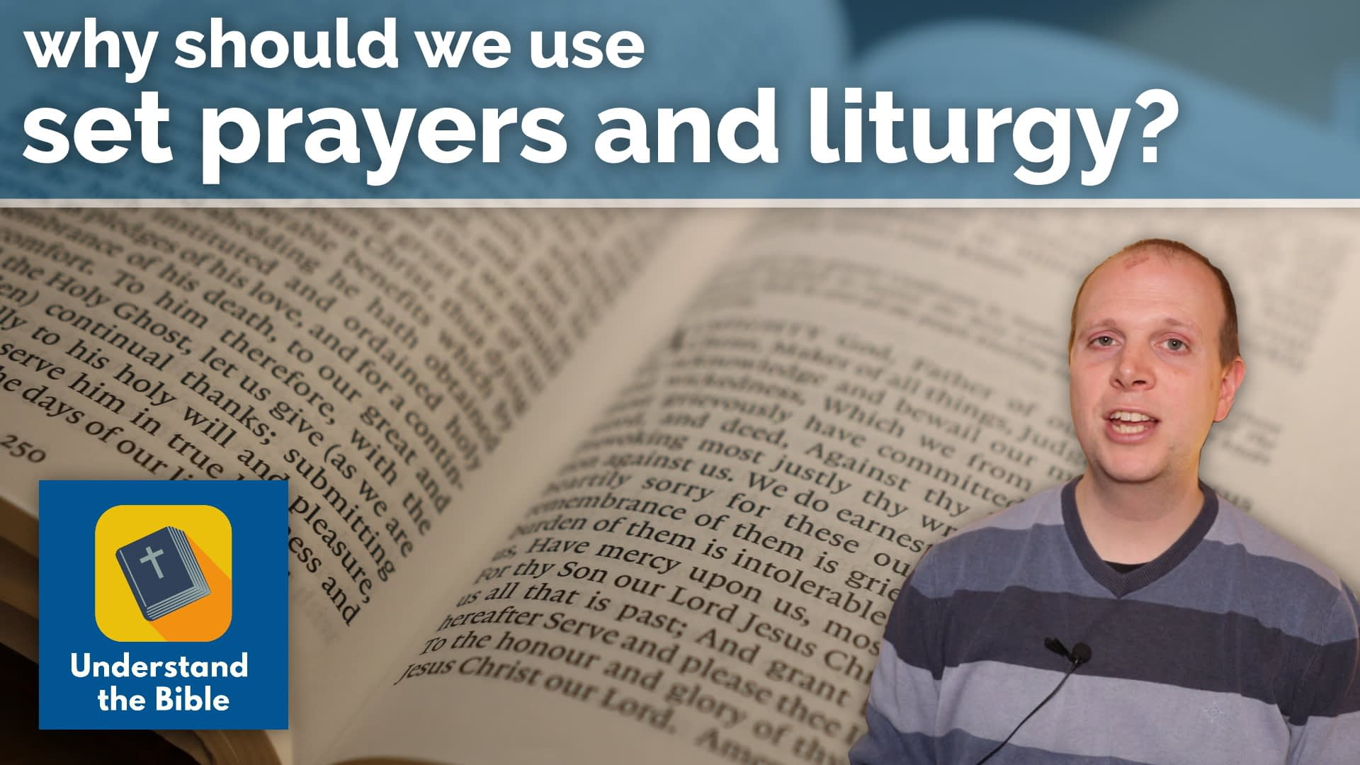 Why should we use liturgy? – Your questions answered