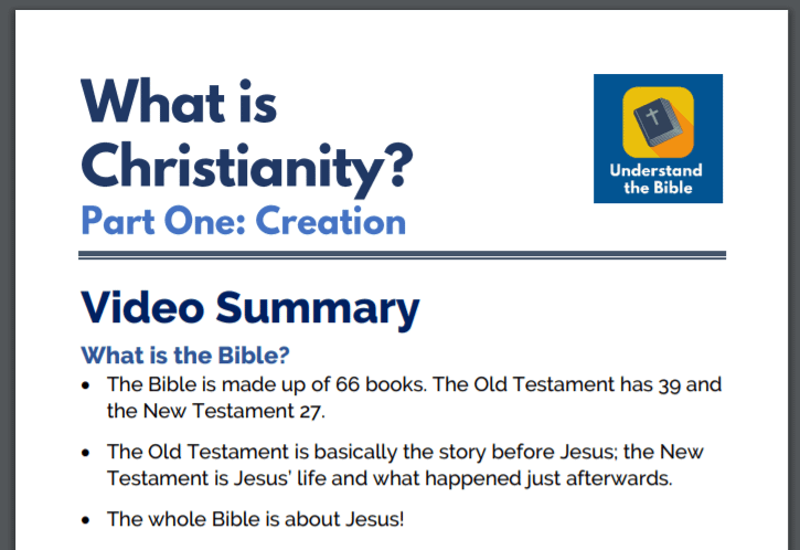 What is Christianity? Study Guide now available